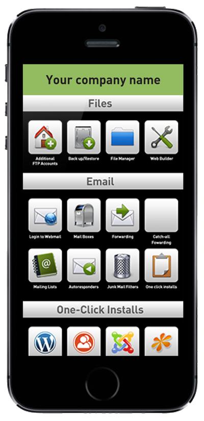 Smart Phone Control Panel